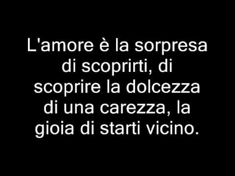 Canzone d'amore le frase piu belle