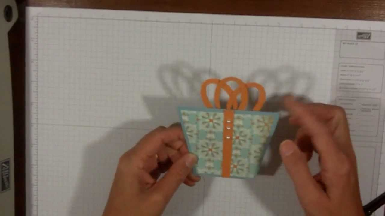 Birthday Card Idea With Stampin Up Punches YouTube