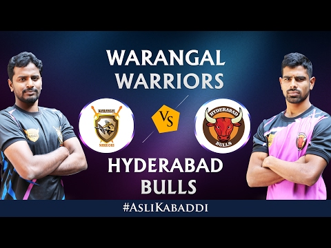 Hyderabad Bulls Vs Warangal Warriors Full Match - Telangana Premier Kabaddi Day 14 - #AsliKabaddi