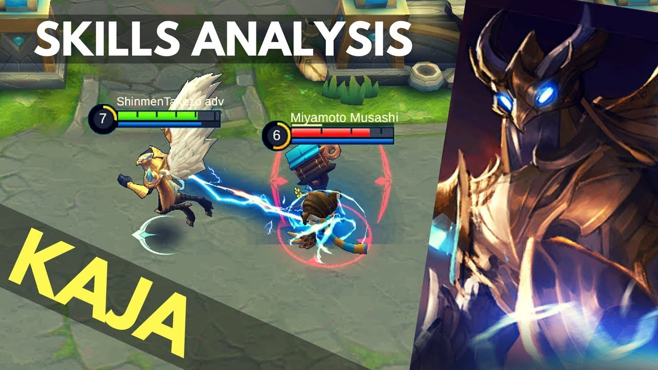 KAJA : NEW TANK / SUPPORT HERO SKILL AND ABILITY EXPLAINED   Mobile Legends