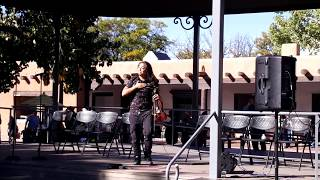 INDIGENOUS PEOPLES DAY 2019 - SANTA FE, NM  -Cornelius Sage   Violin