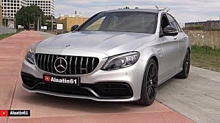 2020 MERCEDES AMG C63 S | FULL REVIEW + SOUND Exhaust Interior Exterior