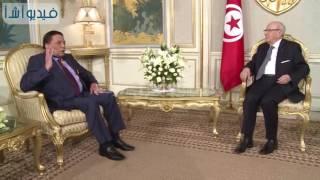 بالفيديو: تكريم رئيس الجمهورية التونسي  للفنان المصري عادل إمام في قرطاج
