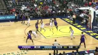 Highlights: Phoenix Mercury vs. Indiana Fever [09/09/12]