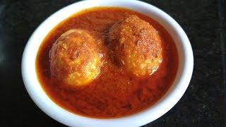Egg Masala Gravy Restaurant Style | Anda Masala Curry Dhaba Style Recipe
