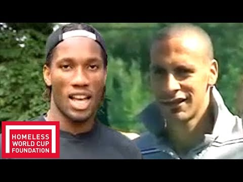 Ferdinand and Drogba Talk about the Importance of the Homeless World Cup 2006 | Throwback