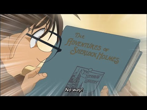 When Conan get his favorite book for free