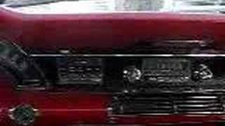 My 66 Chrysler's dashboard