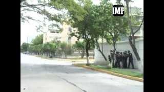 #12S Enfrentamientos en Residencias del Este Barquisimeto 12-09-14