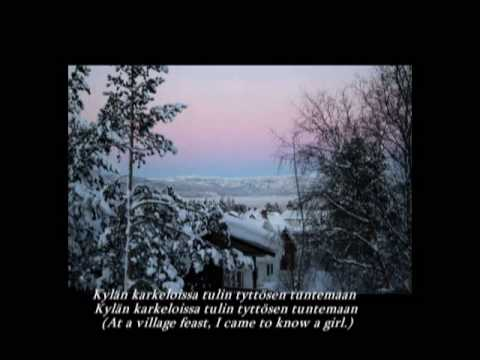 kun minä kotoani läksin by Ville Valo with clear lyrics and translation by Coastranger