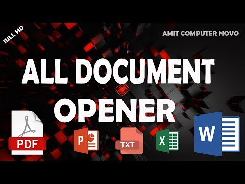 All Document Opener App For Android - By Amit Computer Novo
