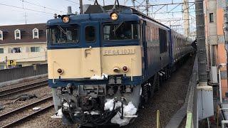 横須賀線用E235系甲種輸送 西国分寺駅通過