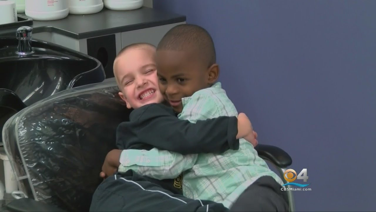 5-Year-Old Boy's Haircut To Look Like Friend Goes Viral