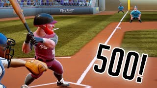 500 FOOT HOME RUN OUT OF STADIUM! Super Mega Baseball 2