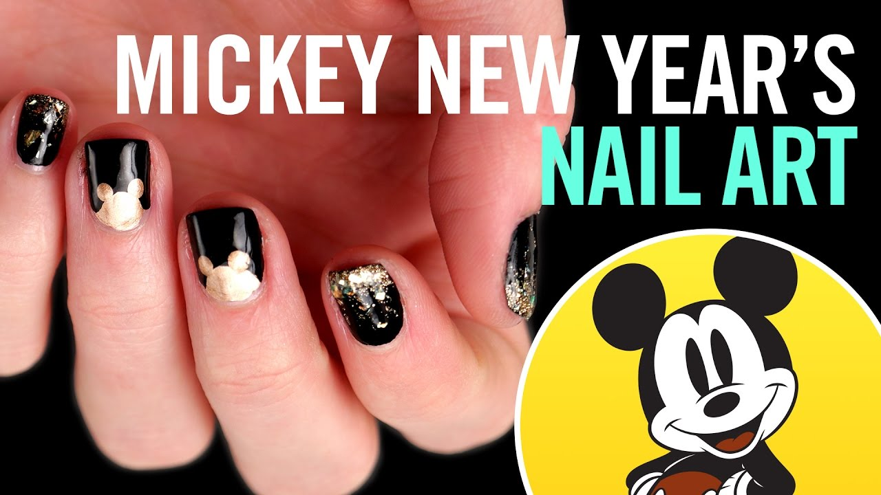 New Years Eve Nail Art