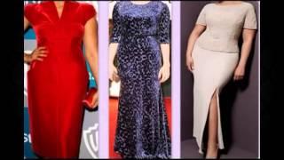 Одежда для полных женщин. Красивое вечернее платье.(, 2013-11-11T18:50:41.000Z)