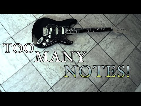 You're Using Too Many Notes! ( Option Paralysis)