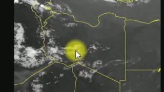 موقع مباشر لرصد حركة السحب لثلاث ساعات قادمة