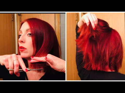 HOW TO CUT YOUR OWN HAIR/ Cosmetologist tutorial