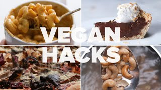 10 Need-To-Know Vegan Hacks