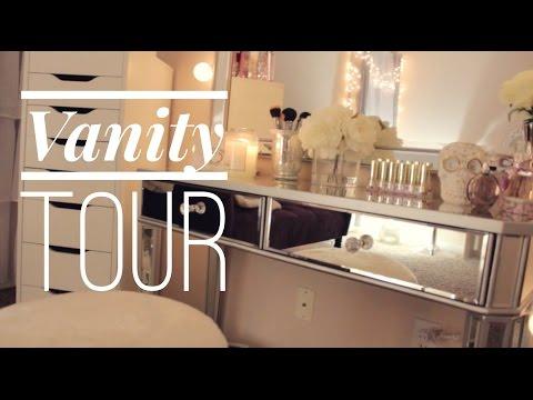 VANITY TOUR♡ (Recorrido por mi tocador)
