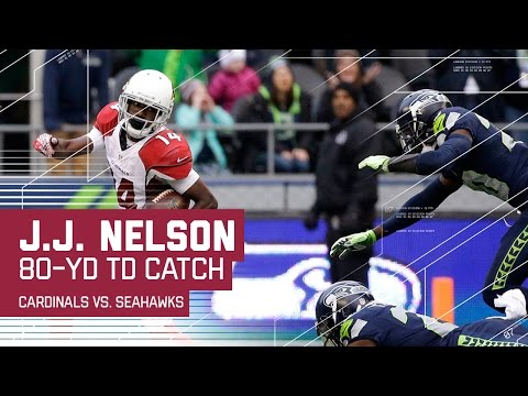 Carson Palmer Launches an 80-Yard TD Pass to J.J. Nelson! | NFL Week 16 Highlights