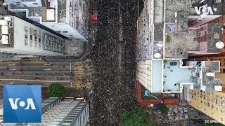 drone-footage-hong-kong-protesters-rally-demand-leader-steps
