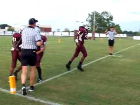 Madison County Central School Broncos Touchdown