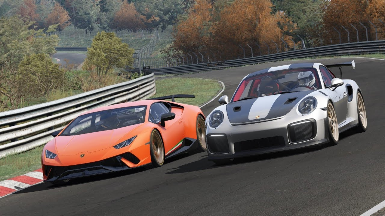 Lamborghini Huracan Performante vs Porsche 991.2 GT2 RS ON ...