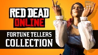 Red Dead Online - Fortune Tellers Collection Locations [Madam Nazar Weekly Collection]