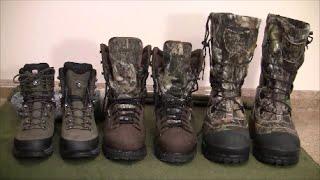 Lowa Tibet GTX Boots, Cabela's Artic Bruin and Cabela's Saskatchewan Pac Boots