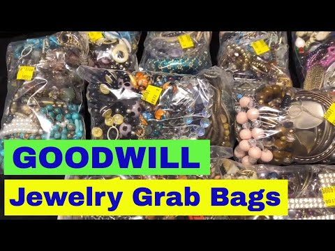 10K Gold Ring Found - Goodwill Jewelry Grab Bags