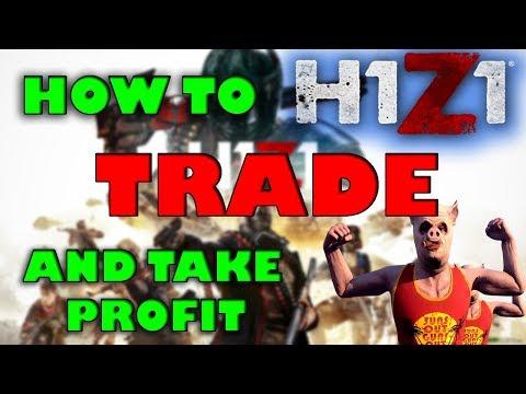 H1Z1 Trade bot. Skins trading site.