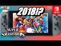 RUMOR - Super Smash Bros. Coming to Nintendo Switch in 2018! New + Wii U/3DS Content!
