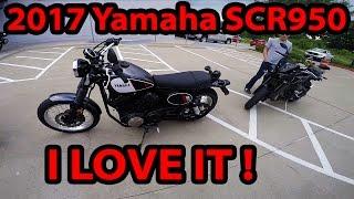 2017 Yamaha SCR950 First Ride