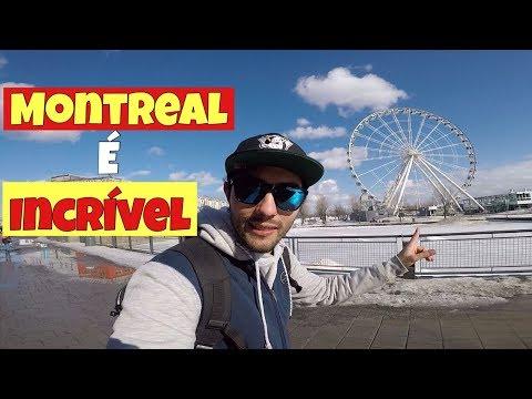 Conhecendo Montreal - Canadá