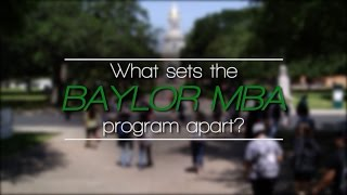 Baylor University - MBA Recruitment