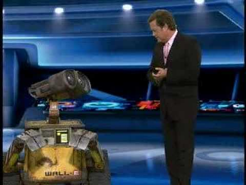 Wall E the Robot Live on KTLA Morning News