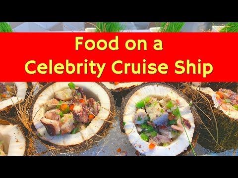 Food On A Cruise Ship | Everything On The Buffet | Celebrity Summit Meals