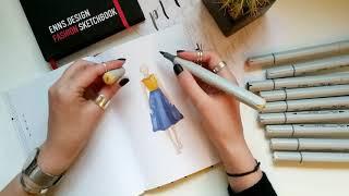 Обзор маркеров Vista-Artista от дизайнера одежды Светланы Эннс