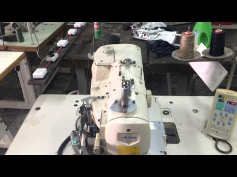 Hướng dẫn Vận hành máy thùa khuy đầu tròn điện tử juki MEB 3200