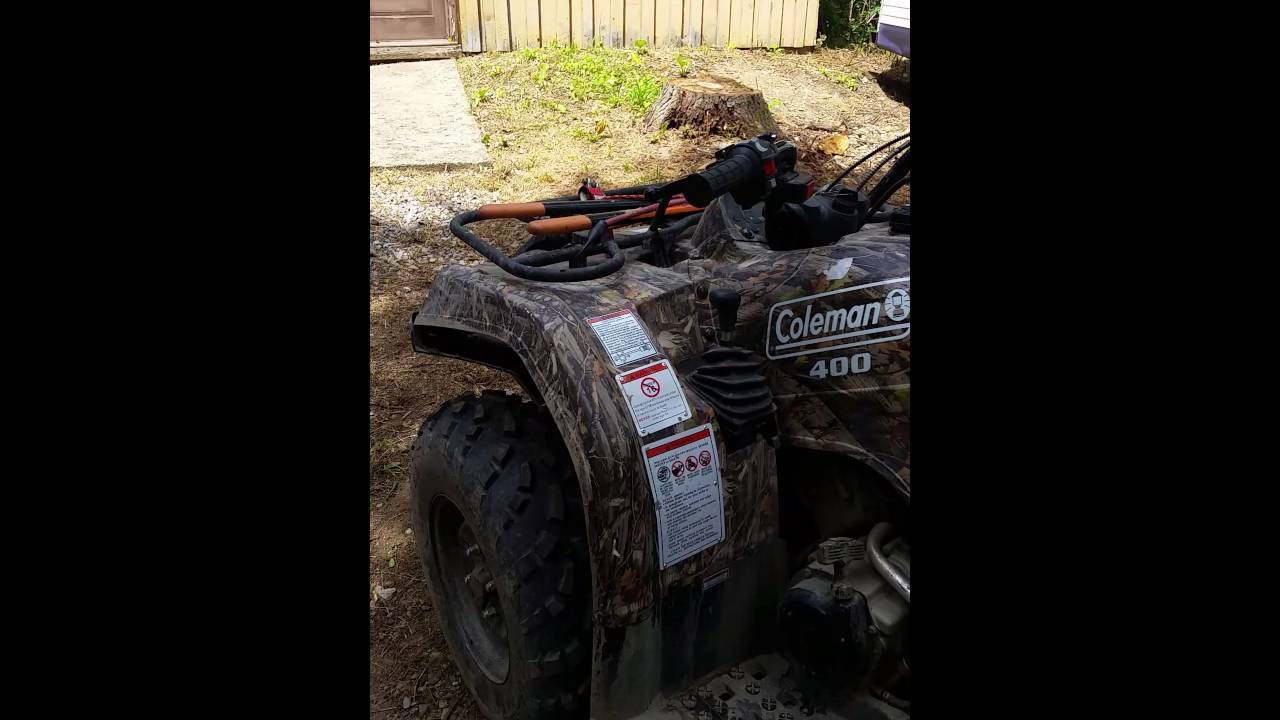 Coleman 360 atv junk do not purchase