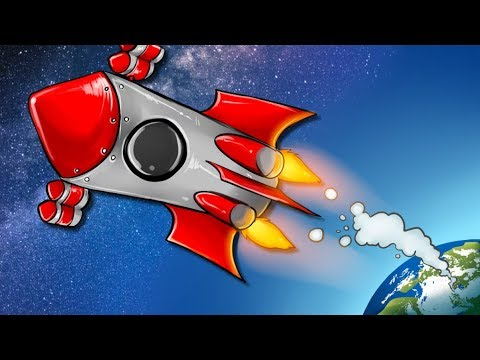 MAXIMUM ROCKET! (we are flying to the MOON...) Into Space Free Online FULL GAME