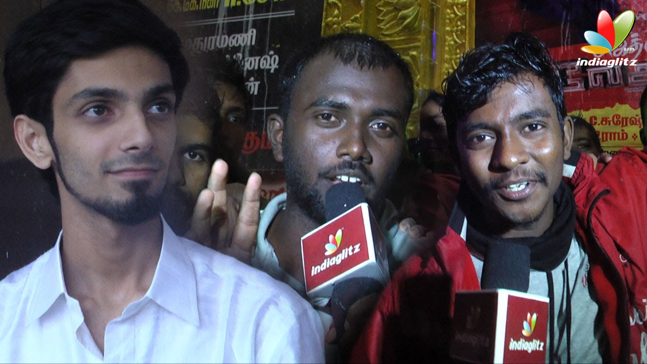 Anirudh and Ajith's fans celebrates Vedhalam Movie Release | First Day First Show at Kasi Theat