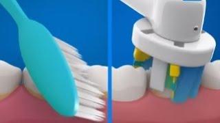 oral b electric toothbrush or manual toothbrush