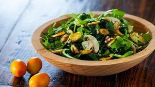 Kale Kumquat Salad