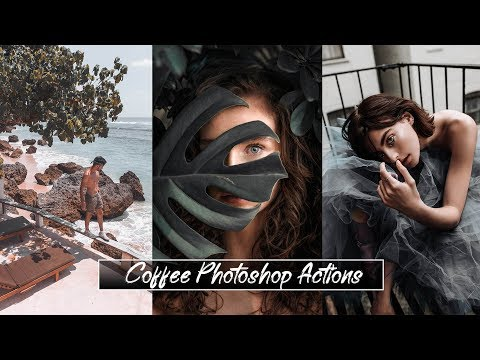 CINEMATIC COLOR GRADING PHOTOSHOP ACTIONS - Coffee Photoshop Actions Free