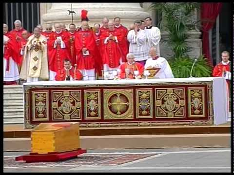 Pogrzeb Jana Pawła II 08.04.2005 | TV Trwam
