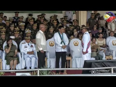 DUTERTE LATEST NEWS APRIL 19, 2018 | DUTERTE LEADS THE AFP CHANGE OF COMMAND CEREMONY !