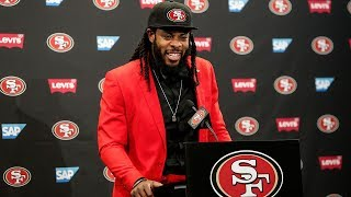 49ers Introduce CB Richard Sherman